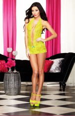 Dreamgirl - 9809 Lime Chemise