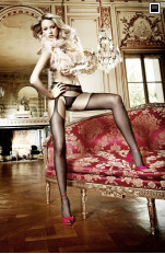 Garter stockings Baci - 2011 Afterdark Sheer Suspenderhose