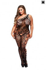 Plus size Kroppsstrumpa Baci - Off the Shoulder Bodystocking Queen Size