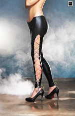 Kombinezony i spodnie vinyl 7heaven - Colorado Wet-look Leggings