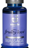 Swede - Massage Oil Blueberry/Cassis 100ml