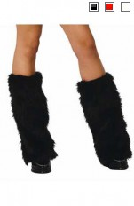 Tillbehör Claudia Fantasy - Furry Boot Covers / Päls Sko Cover