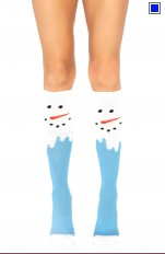 Jul / Jultomte Leg Avenue - 5612 Snow Man Knee High