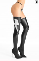 Wet-look, Metallic 7heaven - S556 Stockings