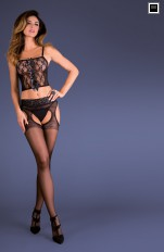 Garter stockings Gabriella - Silvana Garter Stockings