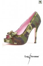 Sexiga Pumps Leg Avenue -  LA420-ARMY