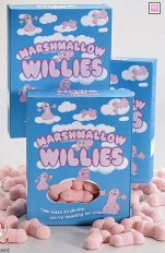 Sexigt godis Marshmallow Willies
