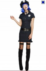 Poliskvinna  Fever - 32036 Cop Girl Costume