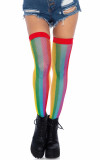 Leg Avenue - 9290 Rainbow Fishnet Thigh Highs