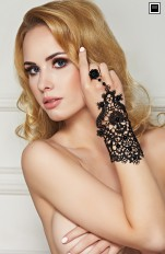 Handskar 7heaven - A7796 One Finger Lace Glove