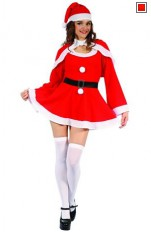 Jul / Jultomte Santa Girl Costume 99975